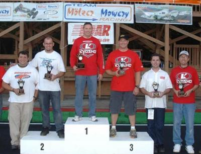 Roar Nats podium - Image by Mike Myers